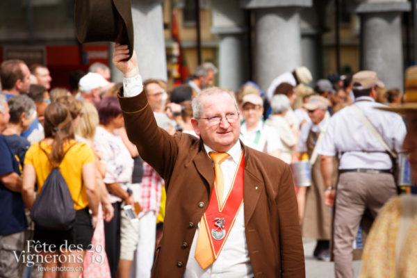 Journée cantonale, cortège du canton de Neuchâtel