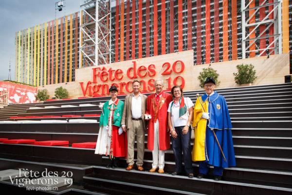 Journée cantonale, Neuchâtel - Abbé Président, Autorités, Défilé, François Margot, journee-cantonale-neuchatel, Journées cantonales, Neuchâtel, Photographies de la Fête des Vignerons 2019.