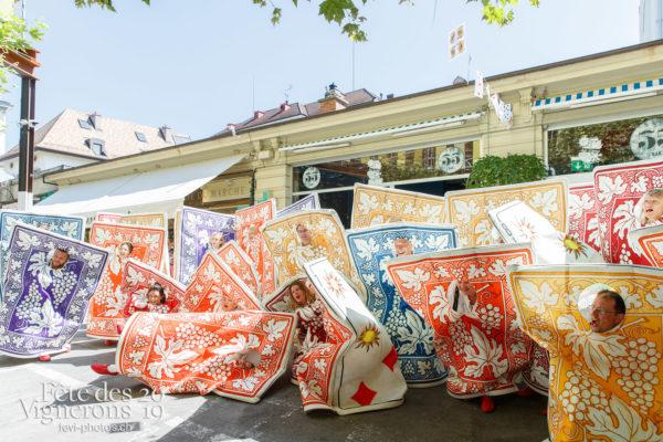 Ambiance en ville - Ambiance, Cartes, Rue, Photographies de la Fête des Vignerons 2019.