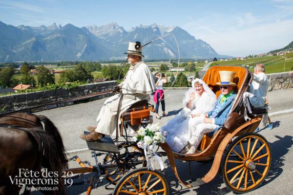 Récéption Aigle-Yvorne - Attelage Noce, reception-aigle-yvorne, Photographies de la Fête des Vignerons 2019.