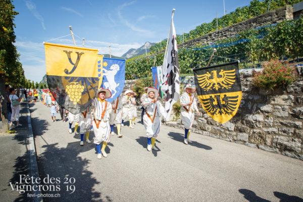 Récéption Aigle-Yvorne - Porteurs drapeaux, reception-aigle-yvorne, Photographies de la Fête des Vignerons 2019.
