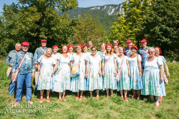 Récéption Aigle-Yvorne - Chœurs de la Fête, Musiciens de la Fête, reception-aigle-yvorne, Photographies de la Fête des Vignerons 2019.