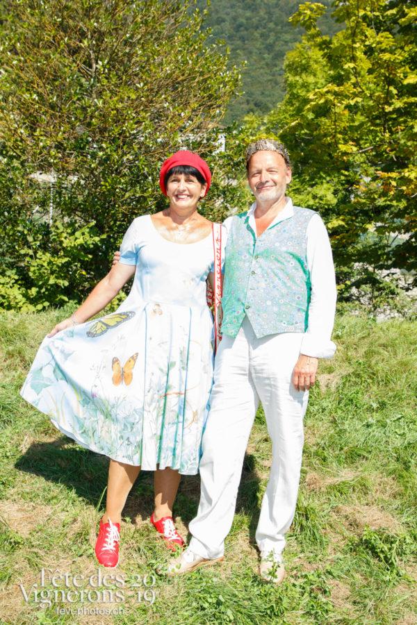 Récéption Aigle-Yvorne - Chœurs de la Fête, Musiciens de la Fête, reception-aigle-yvorne, Vignerons couronnés, Photographies de la Fête des Vignerons 2019.