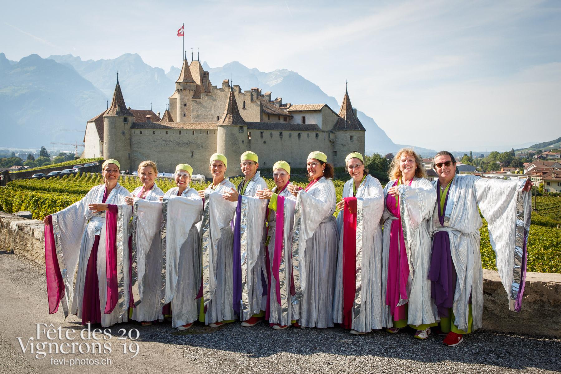 Récéption Aigle-Yvorne - Groupe, Maîtres-Tailleurs, Récéption Aigle-Yvorne. Photographes de la Fête des Vignerons 2019