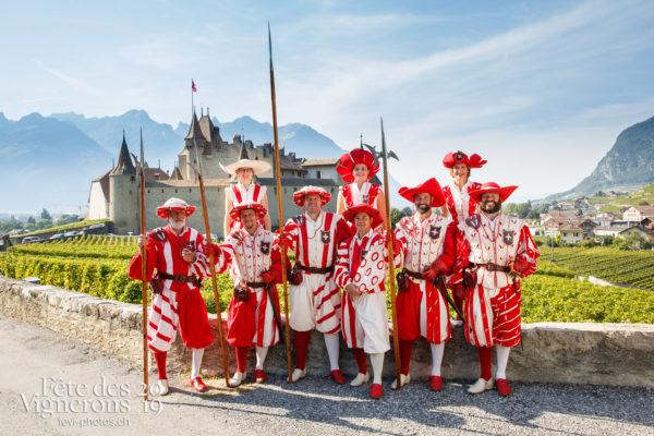 Récéption Aigle-Yvorne - Cent suisses, reception-aigle-yvorne, Photographies de la Fête des Vignerons 2019.