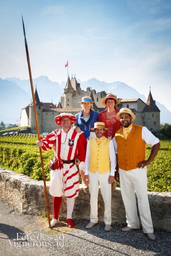 Récéption Aigle-Yvorne - Cent suisses, Consoeurs confrères, reception-aigle-yvorne, Photographies de la Fête des Vignerons 2019.
