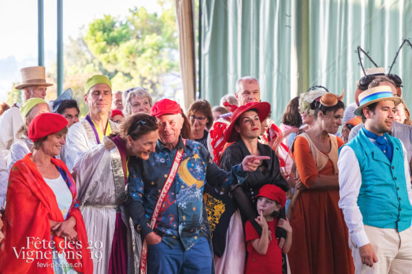 FeVi2019 à Montreux - Chœurs de la Fête, commissaires, Effeuilleuses, Enfants protecteurs, Harmonie de la Fête, Maîtres-Tailleurs, Musiciens de la Fête, Photographies de la Fête des Vignerons 2019.
