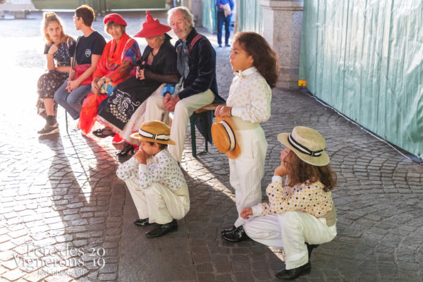 FeVi2019 à Montreux - Chœurs de la Fête, Effeuilleuses, Etourneaux, etourneaux placeurs, Hommes du premier printemps, Musiciens de la Fête, Noce, Photographies de la Fête des Vignerons 2019.