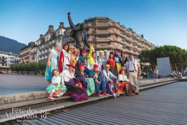 FeVi2019 à Montreux - Armaillis, Bourgeons, Chœurs de la Fête, Effeuilleuses, Enfants protecteurs, Fourmis, Maîtres-Tailleurs, Musiciens de la Fête, Oriflammes, Voix d'enfants, Photographies de la Fête des Vignerons 2019.