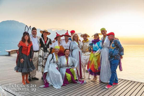 FeVi2019 à Montreux - Armaillis, Bourgeons, Chœurs de la Fête, Effeuilleuses, Fourmis, Maîtres-Tailleurs, Musiciens de la Fête, Oriflammes, Photographies de la Fête des Vignerons 2019.