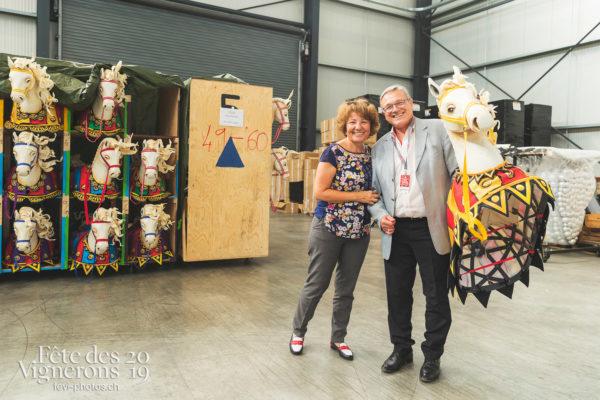 Vente Aigle - aigle, Coulisses, vente, Photographies de la Fête des Vignerons 2019.