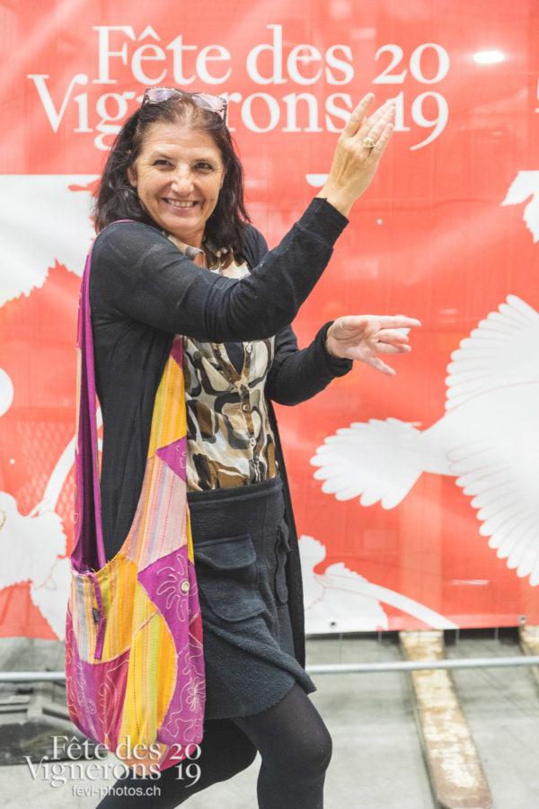 Vente Aigle - Coulisses, Vente Aigle, Photographies de la Fête des Vignerons 2019.