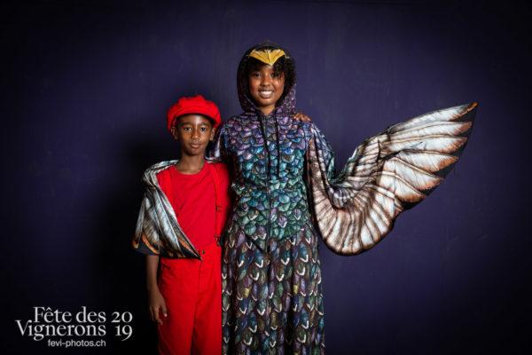 studio_juillet_aout_©JulieMasson-6522 - Enfants protecteurs, Etourneaux, Studio, Photographies de la Fête des Vignerons 2019.