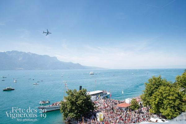 Patrouille suisse avion swiss - 1er-aout, Avion Swiss, bateau, cgn, Patrouille suisse, Photographies de la Fête des Vignerons 2019.