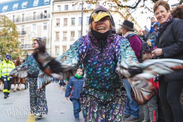 Saint-Martin - Cortège, Etourneaux, etourneaux placeurs, Saint-Martin, Photographies de la Fête des Vignerons 2019.