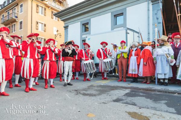 Saint-Martin - Fifres & tambours de Bâle, Musiciens de la Fête, Saint-Martin, Photographies de la Fête des Vignerons 2019.