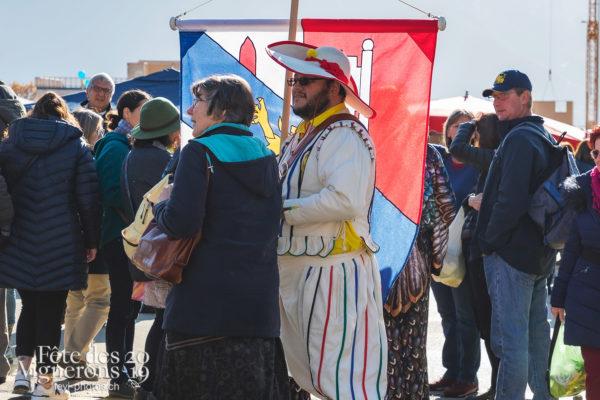 Saint-Martin - Porteurs drapeaux, Saint-Martin, Photographies de la Fête des Vignerons 2019.