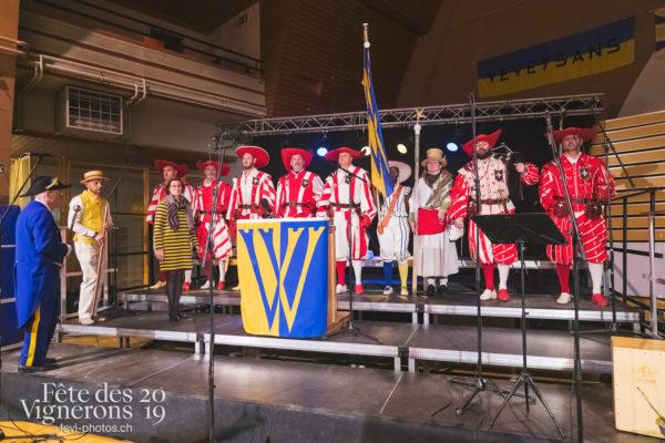FeVi2019 - Réception ville de Vevey - Autorités, Cent suisses, Porteurs drapeaux, vevey-remercie-les-figurants-et-benevoles, Photographies de la Fête des Vignerons 2019.
