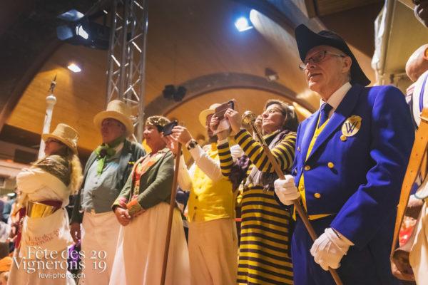 FeVi2019 - Réception ville de Vevey - Autorités, couronne, vevey-remercie-les-figurants-et-benevoles, Vignerons couronnés, Photographies de la Fête des Vignerons 2019.