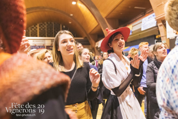 FeVi2019 - Réception ville de Vevey - Effeuilleuses, vevey-remercie-les-figurants-et-benevoles, Photographies de la Fête des Vignerons 2019.