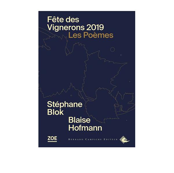 Livre Les PoèmesPhotographies de la Fête des Vignerons 2019.