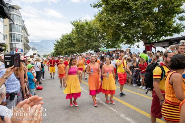 Journée cantonale, Vaud - acvg, Flammes, Journée cantonale Vaud, Journées cantonales, Vaud, Photographies de la Fête des Vignerons 2019.
