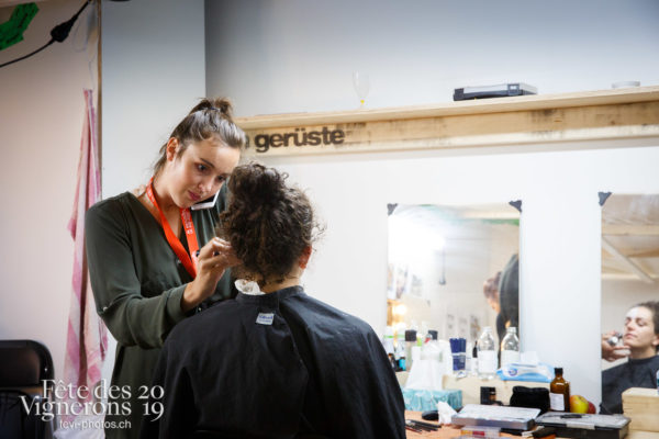 Coulisses - Coulisses, Maquillage, Photographies de la Fête des Vignerons 2019.
