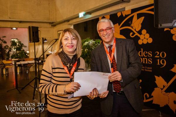 Soirée des commissaires - commissaires, medaille, soiree-des-commissaires, Photographies de la Fête des Vignerons 2019.