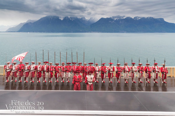 Proclamation - cent-suisses-historiques, Proclamation, Terrasses de la Confrérie, Photographies de la Fête des Vignerons 2019.
